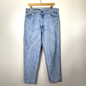Levi's Orange Tag Acid Wash Jeans